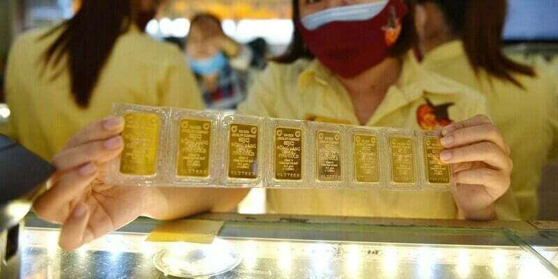 Giao dịch vàng miếng