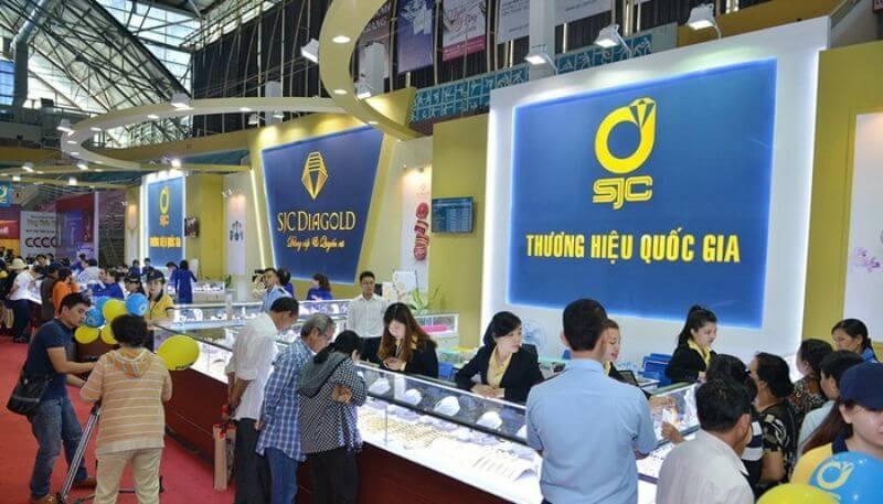 thương hiệu vàng SJC